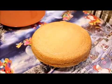 Как сделать обычный бисквит в домашних условиях