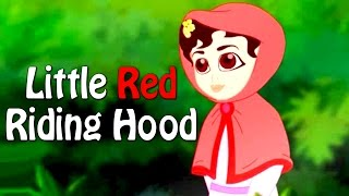Little Red Riding Hood in Hindi | Hindi Animated Bedtime Stories For Kids