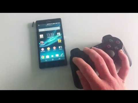 How to Connect a PS3 Control Pad to Xperia Z Wireless