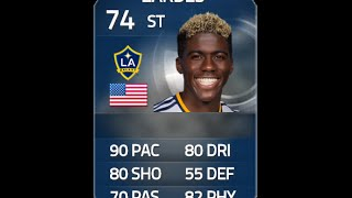 FIFA 15 TOTS ZARDES 74 Player Review & In Game Stats Ultimate Team
