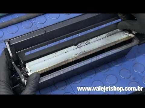 Vídeo Recarga Toner HP C4127X   27X   4000   4050 - Vídeo Aula Valejet.com