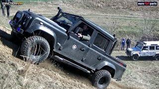 Land Rover Defender at Off Road Indjija