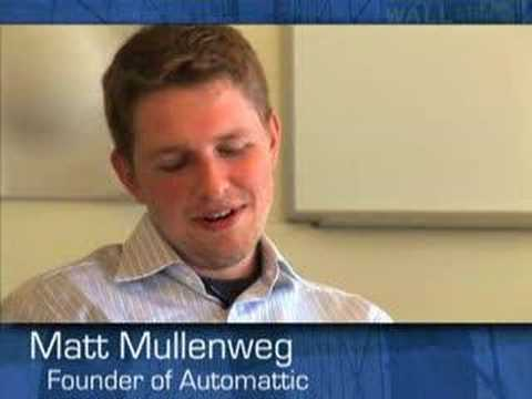 Wallstrip Chat - Matt Mullenweg