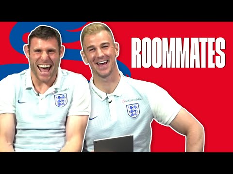 Does James Milner know Joe Hart's real name? - Joe Hart v James Milner | Roommates