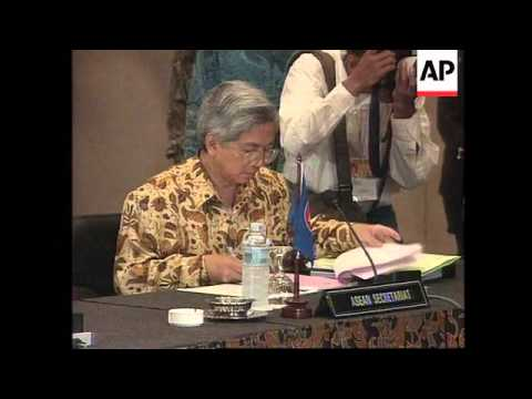 Indonesia - ASEAN finance ministers begin talks