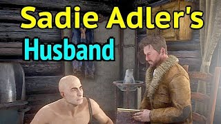 Sadie Adler's Husband in Red Dead Redemption 2: Jake Adler on Adler Ranch in Red Dead Online