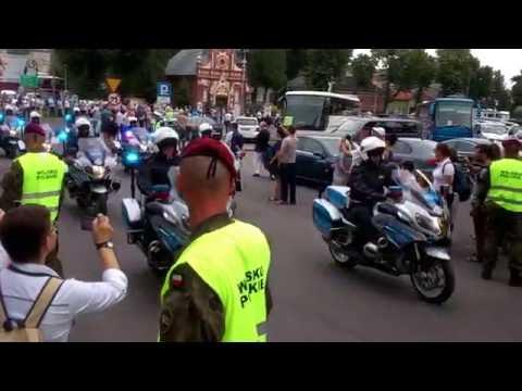 Papież Franciszek Dojeżdża Do Jasnej Góry W Częstochowie - 28.07.2016