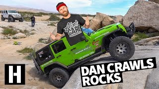 Rock Crawling in Someone Else's Jeeps: Danger Dan's Secret Footage!