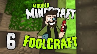 "Minecraft: FOOLCRAFT | #6: OK... ""OP"" REACTOR! 😝 (Dont mind if I do) [Modded Minecraft]"