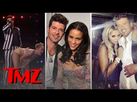 Robin Thicke Attempts to SAVE HIS MARRIAGE!