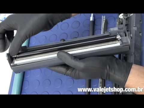 Vídeo Recarga Toner HP C3906A   06A    5L   6L - Vídeo Aula Valejet.com