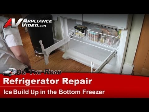 Refrigerator Repair - Ice in the freezer-Whirlpool. Maytag. Kenmore - GX5FHDXVQ02