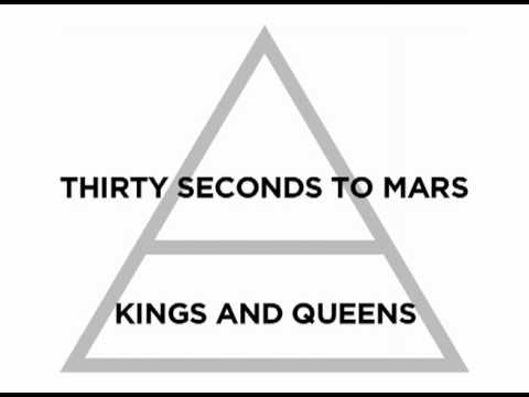 Thirty Seconds to Mars - Kings and Queens Lyrics Music Videos