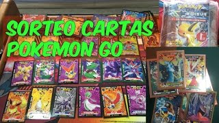 SORTEO PAQUETON DE CARTAS POKEMON GRATIS!!!!! POKEMON GO 3 REYES
