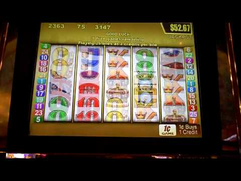 Big Ben Slot Machine Bonus Win at Mt. Airy Casino