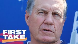 Bill Belichick Refuses To Discuss Possibility Of Patriots' Perfect Season | First Take | ESPN