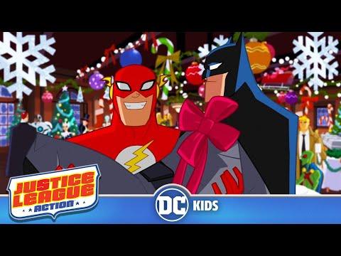 Justice League Action | A Bat-mas Miracle | DC Kids