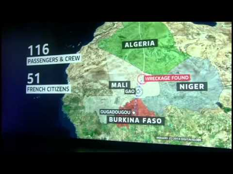 Air Algerie Plane Crash Flight AH 5017 Crashes | Wreckage of Air Algerie Plane Found in Mal