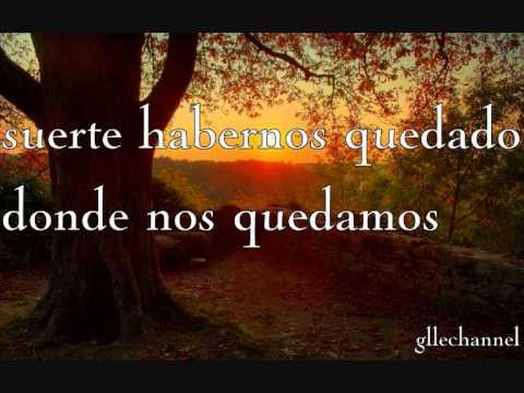 Glee - Lucky (letra en español)