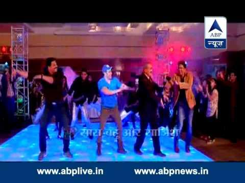 CID team dances with Salman Khan
