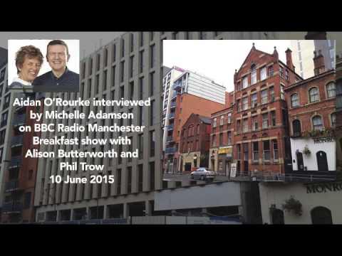 Aidan O'Rourke interviewed on Radio Manchester 10 Jun 2015
