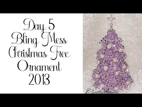 Day 5 of 10 Days of Christmas Ornaments with Cynthialoowho 2013