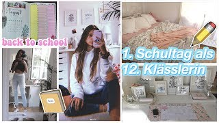 GET READY FOR BACK TO SCHOOL & ERSTER SCHULTAG VLOG ✏️💛👩🏼‍🎓