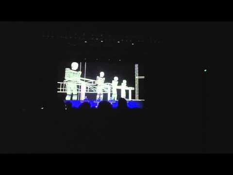 Music Non Stop - Kraftwerk 3D Concert in Hong Kong (4th May 2013)