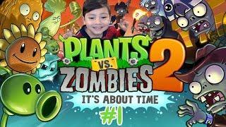 Plantas vs Zombies 2   Batalla en Egipto con las Momias   Juegos para niños