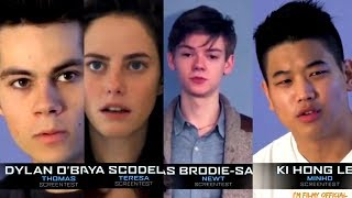 Maze Runner: The Death Cure - Cast Audition Tapes | Must Watch 2018