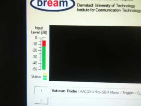 Vatican Radio in DRM