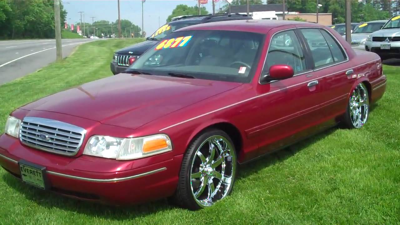 1999 crown vic with 22 39 s everett chevrolet buick gmc. Black Bedroom Furniture Sets. Home Design Ideas