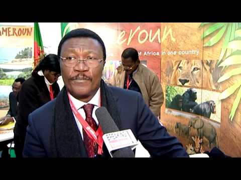 Charles Ngouane Milla, Cameroon Tourism Bureau Europe @ ITB 2010