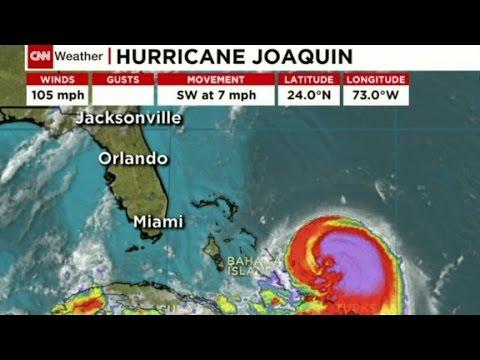 Hurricane Joaquin upgraded to Category 2