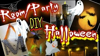 5 HALLOWEEN DIY 'S👻Zimmer/Party Dekoration🎃Room Decor👻coole Mädchen Z&F