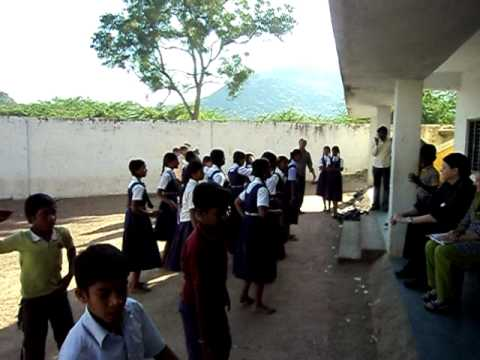 I Love My India Pardes ..jeremy Greenup And Lorrei L King Visit Govt School video