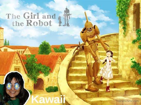 A Garota e o Robo Jogando o Alfa