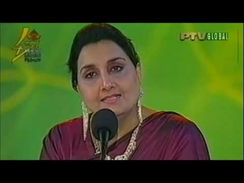 Naheed Akhtar Live At 43rd Ptv Anniversary - Part 2
