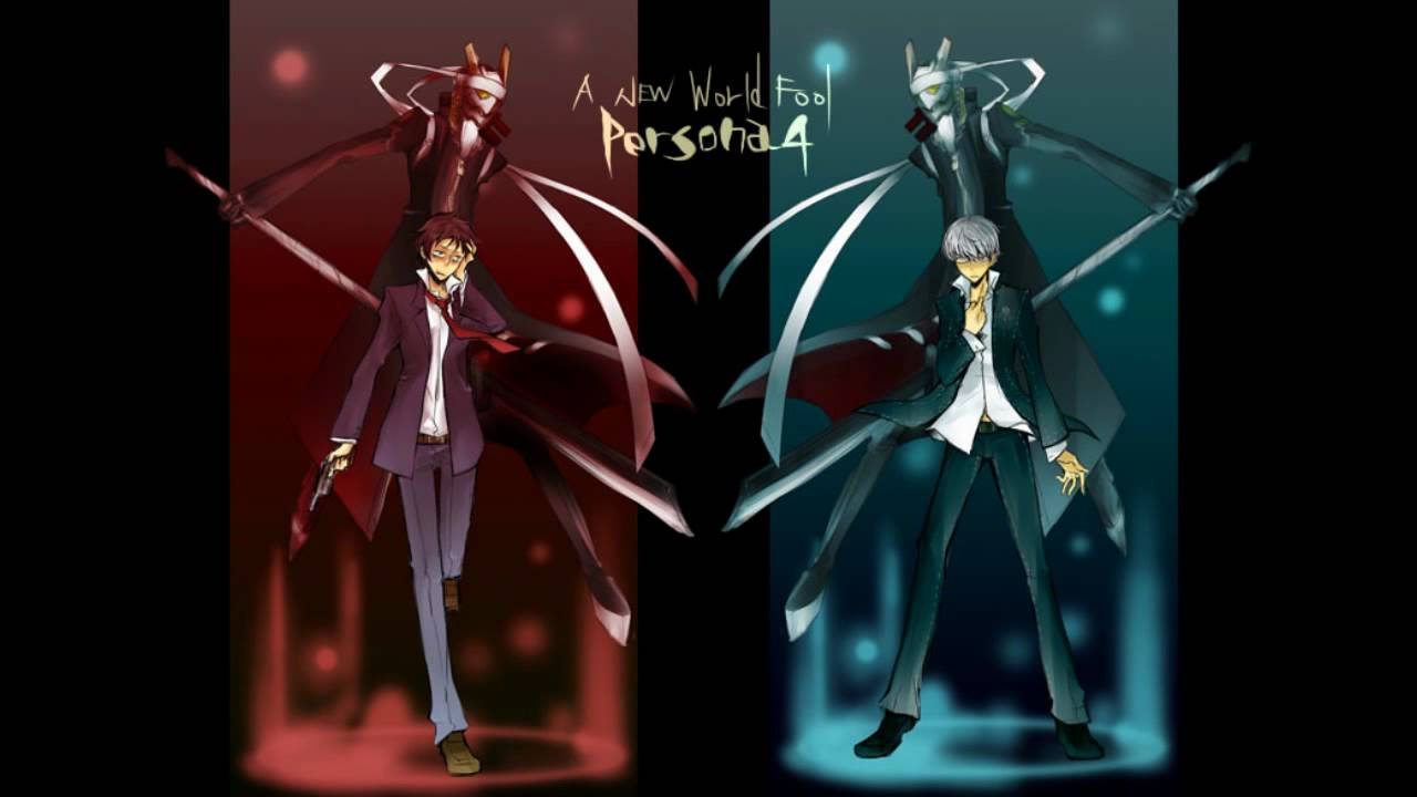 Persona 4 Izanagi Magatsu Persona 4 - A New World Fool