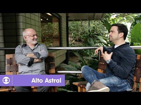 Alto Astral: Silvio de Abreu conversa com autor Daniel Ortiz