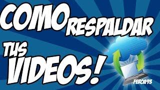 Como Respaldar todos tus vídeos de Youtube fácil.