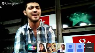 Hangout with Zaki!