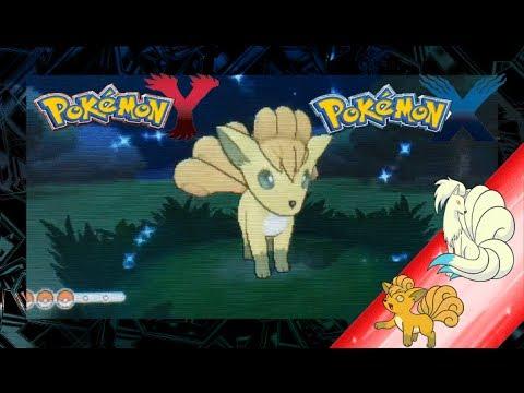 Pokemon x and y shiny vulpix and evolution youtube - Pokemon y ptera ...