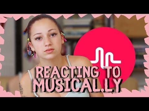 Danielle Bregoli reaction  a des  Musical.ly thumbnail