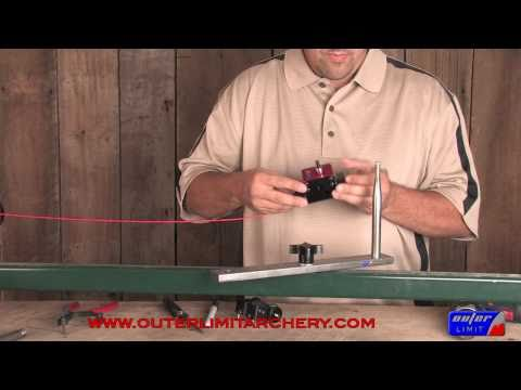 Moto Motorized Bowstring Serving Jig Outer Limit Archery String Making Building How to