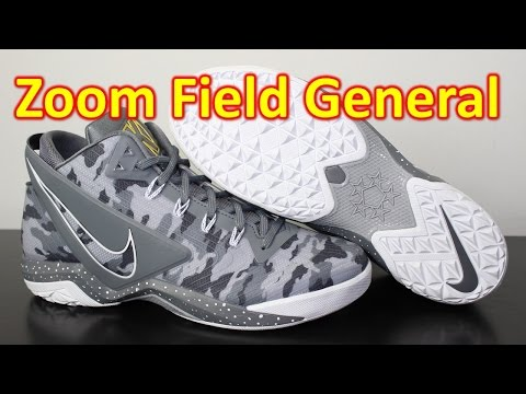 Nike Zoom Field General Wolf Grey Camo - Review + On Feet