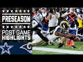 Cowboys vs. Rams | Game Highlights | NFL MP3