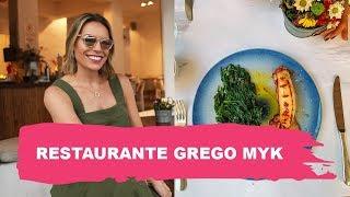 RESTAURANTE GREGO - MYK | VISITA A RESTAURANTE | Go Deb!