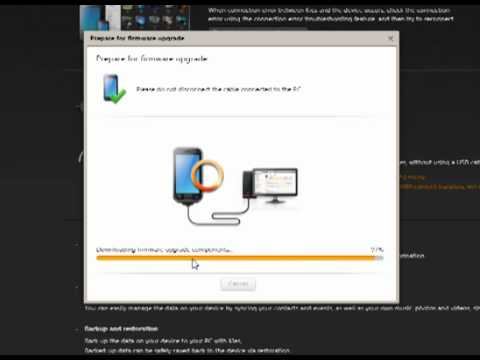 How to update upgrade android with samsung kies app for Kuchenplaner app android