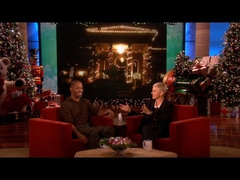 Jamie Foxx's Holiday Decorations